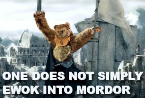 Ewok Mordor