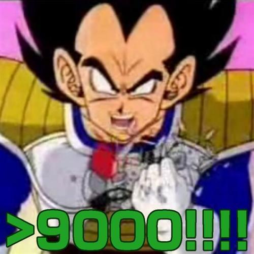 It\'s over 9000