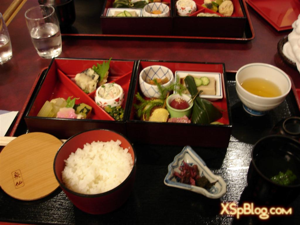 Traditional japanese meal xsp for Ancient japanese cuisine