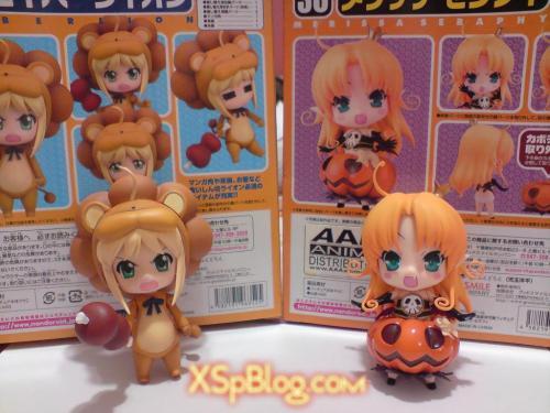 Nendoroid Saber Lion / Nendoroid Melissa Seraphy