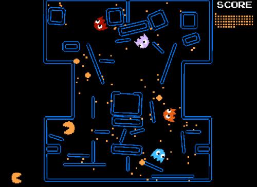 Pac-Man Physics