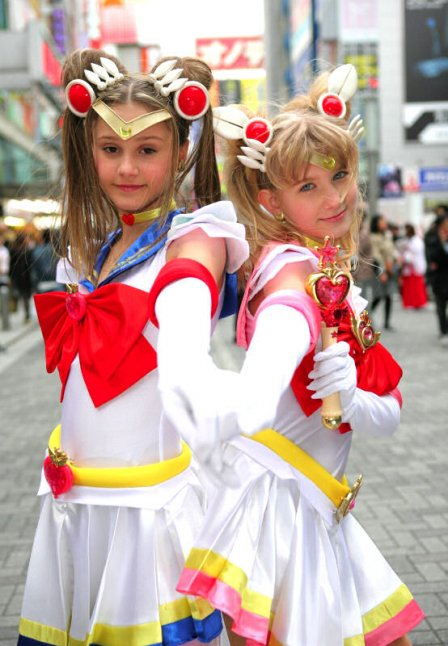 Sailor Moon (Serena and Serena?) - ?