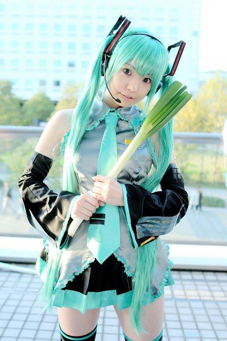 hatsune miku cosplay - photo #19