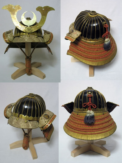 Japanese Samurai Helmets - Kabuto