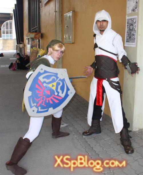 Legend of Zelda an Assassin's Creed (Link and Altair) - ?