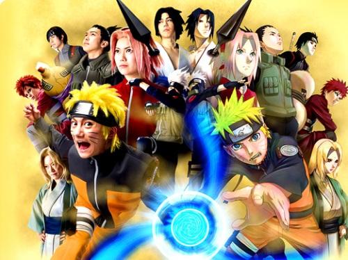 Naruto (tons of characters) - Universal Studios