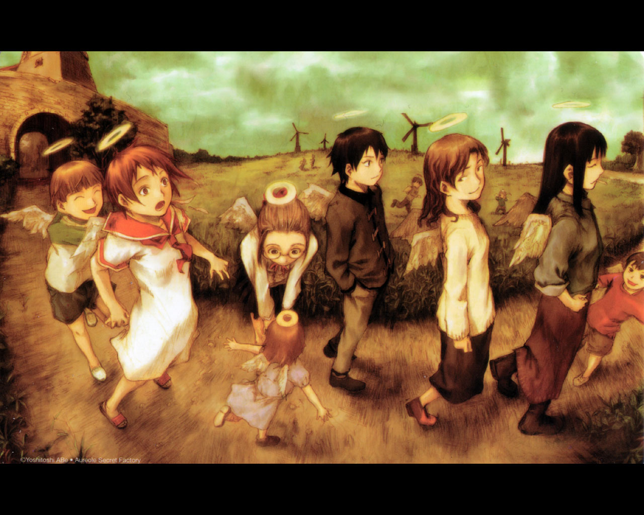 Ailes Grises Haibane-renmei