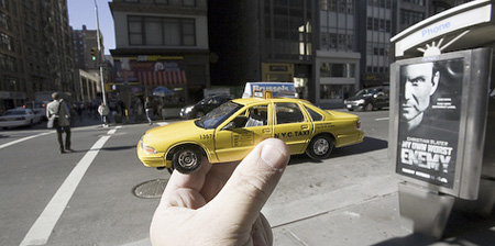 Souvenir Landmarks - New York Yellow Cab