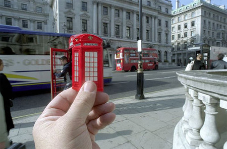 Souvenir Landmarks - London Red Phone Booth