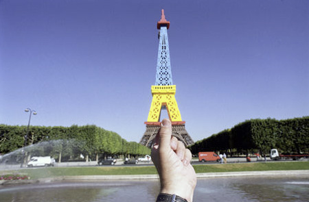 Souvenir Landmarks - Paris Eiffel Tower