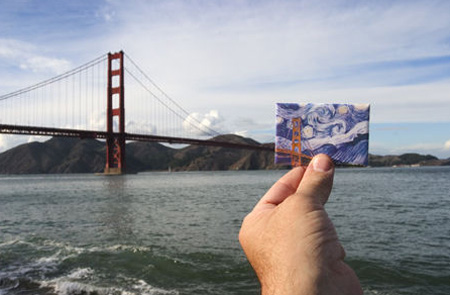 Souvenir Landmarks - San Francisco Golden Gate